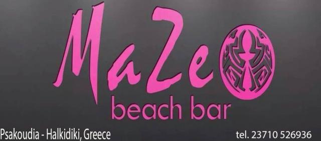 MAZE beach bar